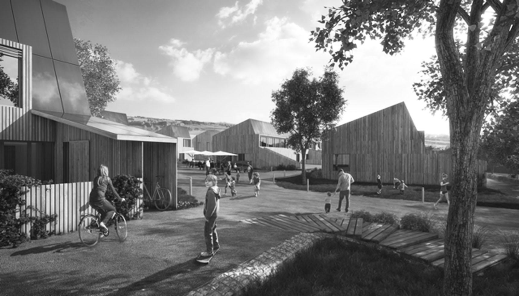 De foerste boliger på Lisbjerg Bakke til web sh