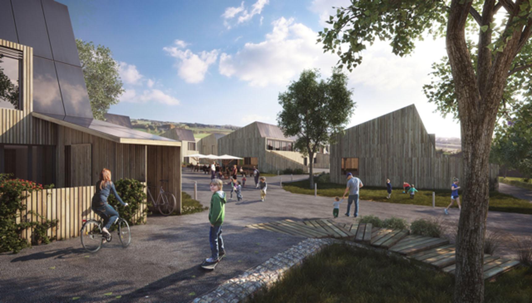 De foerste boliger på Lisbjerg Bakke til web