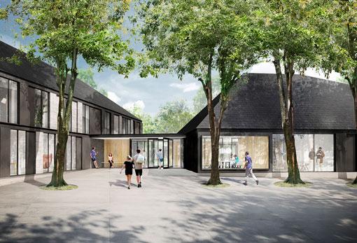 Ballerups nye psykiatrihospital tegnet af Rubow arkitetker