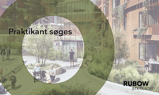 Rubow arkitekter søger praktikanter