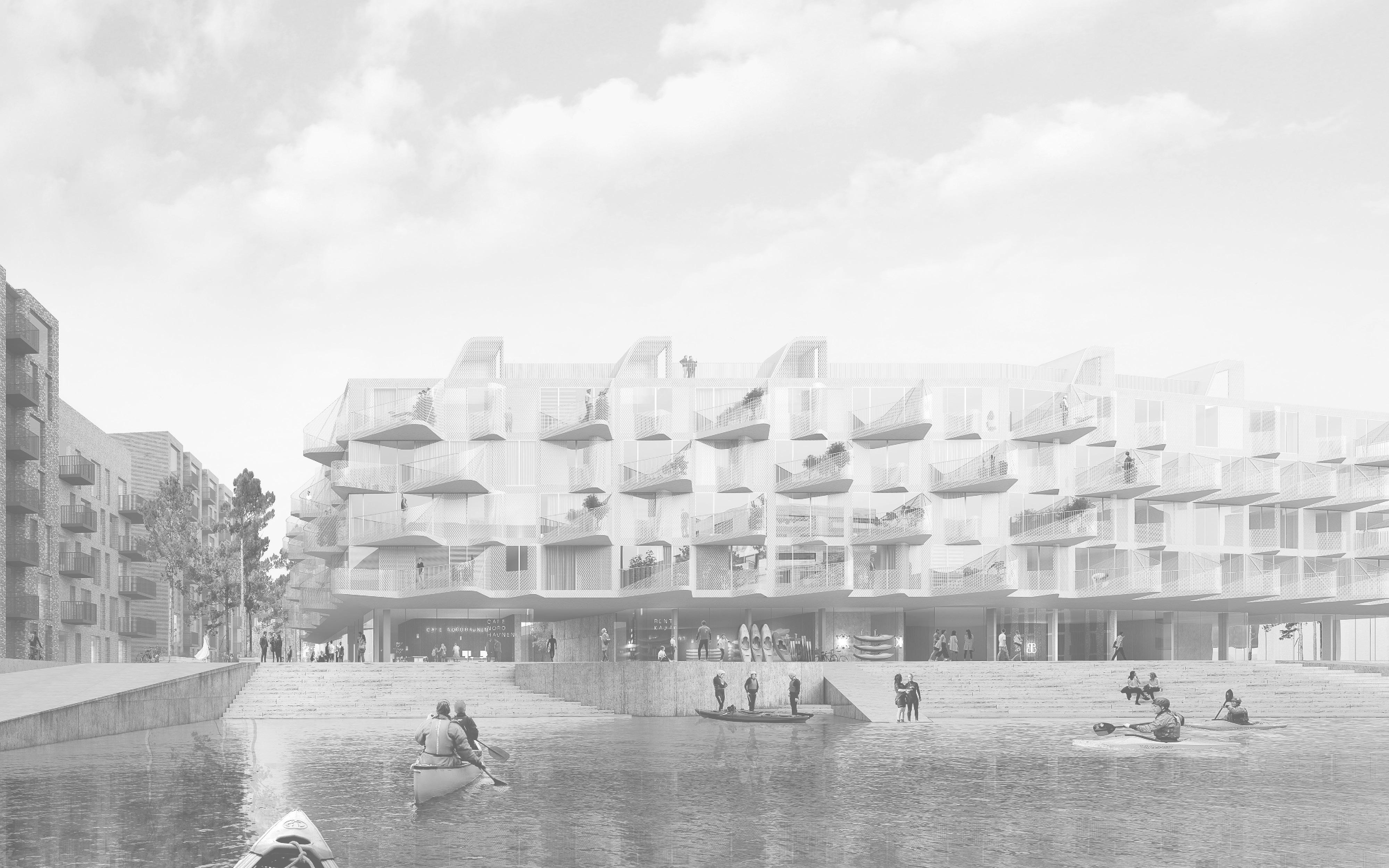 Skyen_boliger i NordhavnBG